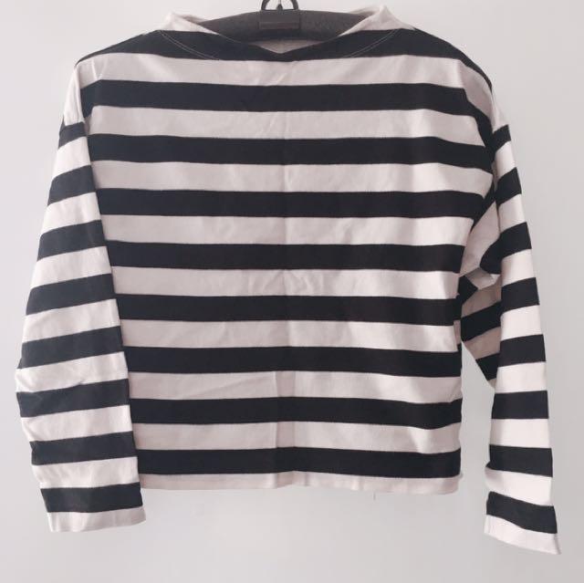 Original Uniqlo Cropped Pullover