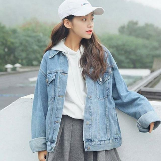 Oversized Denim Jacket Levis
