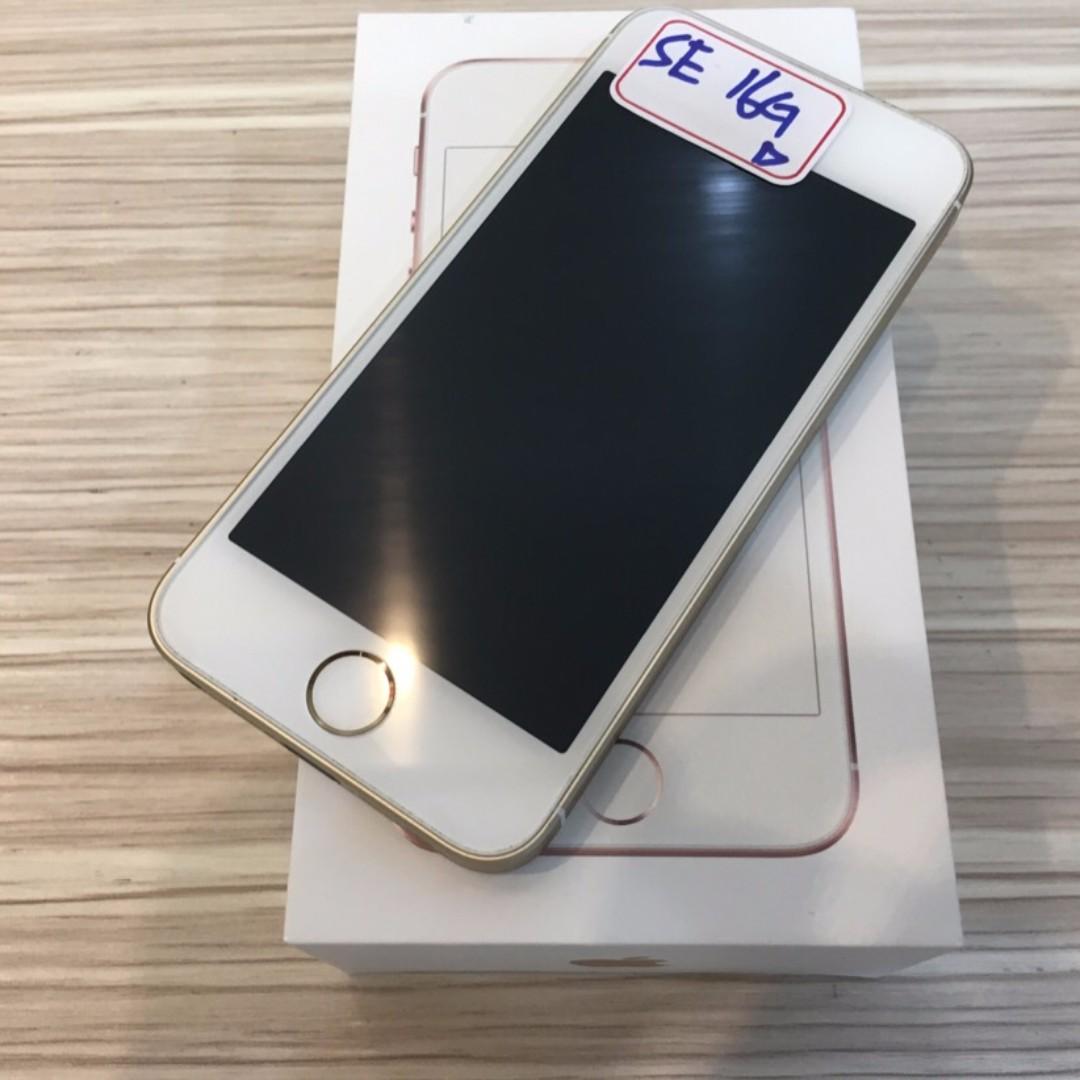 【鏢Phone】Apple iPhone SE 16GB 已過保固 盒裝完整 9成新 功能正常 歡迎舊機折抵
