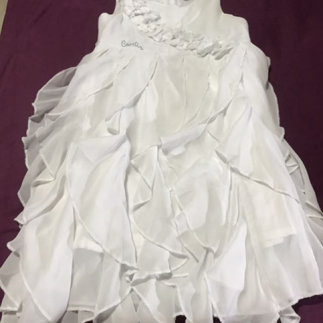 Pierre Cardin White Frilly Dress Babies Kids Girl S Apparel On