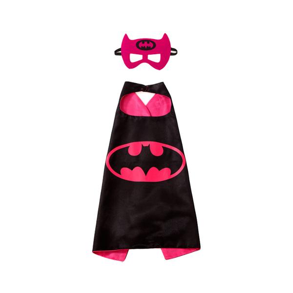 photo photo photo  sc 1 st  Carousell & Pink Batman Batwoman BatGirl Superhero Cape u0026 Mask for Kids Children ...