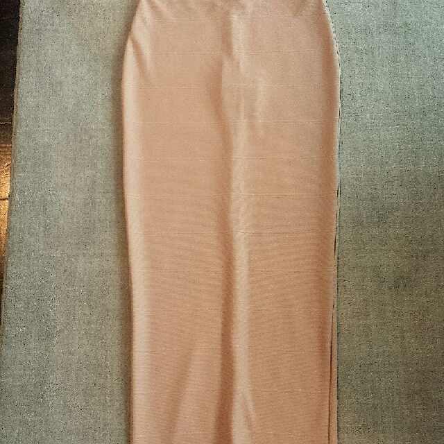 Pink HIGH WAISTED bandage Skirt