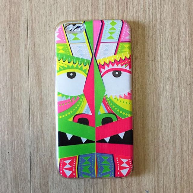Pink Tribal Aztec iPhone 6 Jelly Case