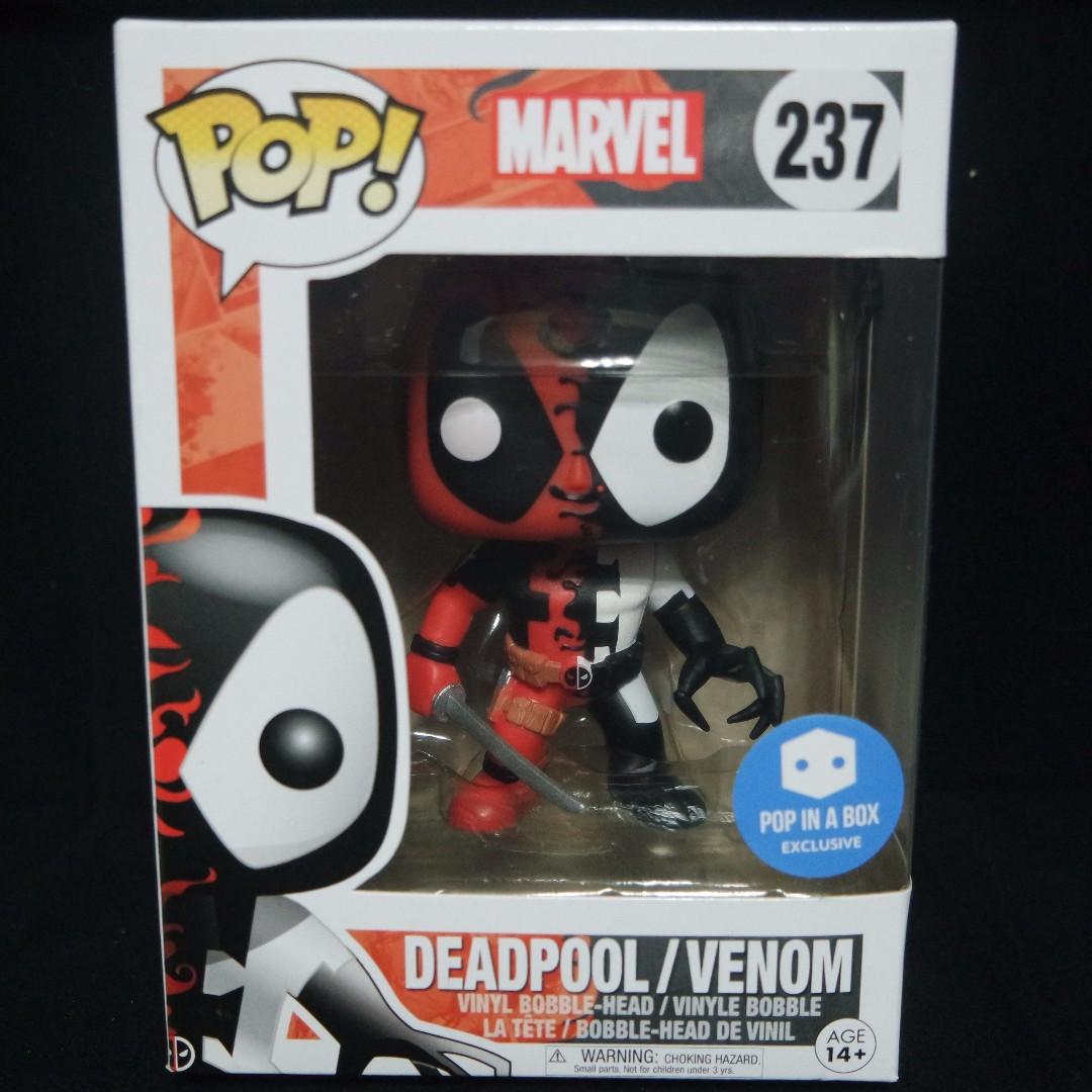 Pop In A Box Exclusive Deadpool Venom Venompool