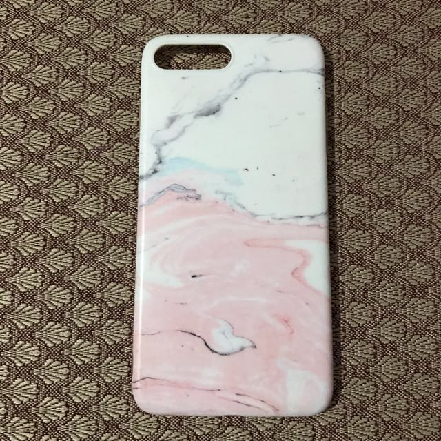 Preloved Iphone 7plus marble case