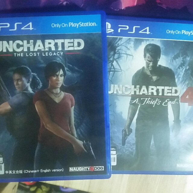 PS4 Uncharted 4 & Uncharted The Lost Legacy