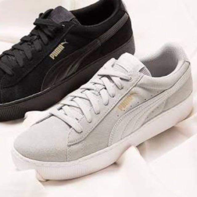 Authentic Puma Platform Sneakers