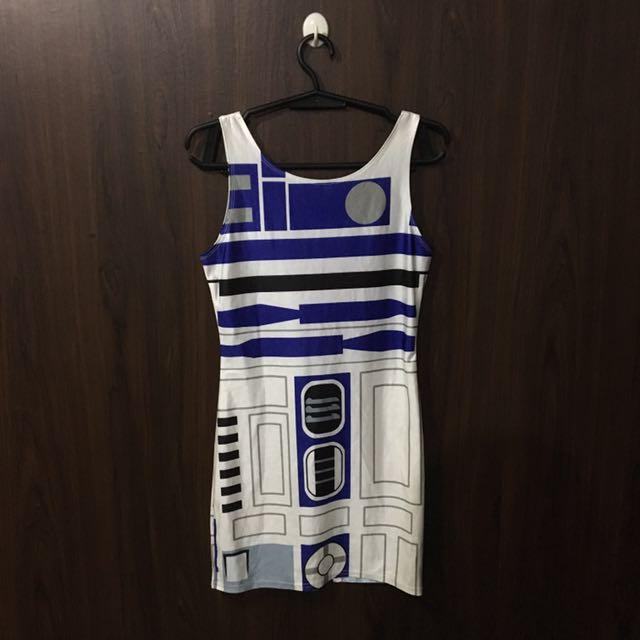 R2D2 Bodycon Dress