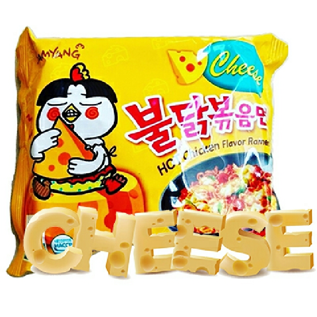 Samyang Cheese Ramen Noodle