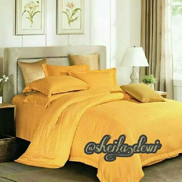 Seprai/Bedcover Cotton Silk (Kingkoil)