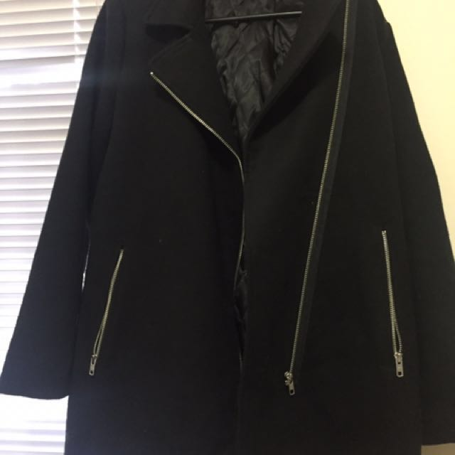 (size - 10) Dotti black coat