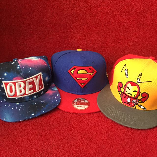 SNAPBACKS SUPERMAN OBEY