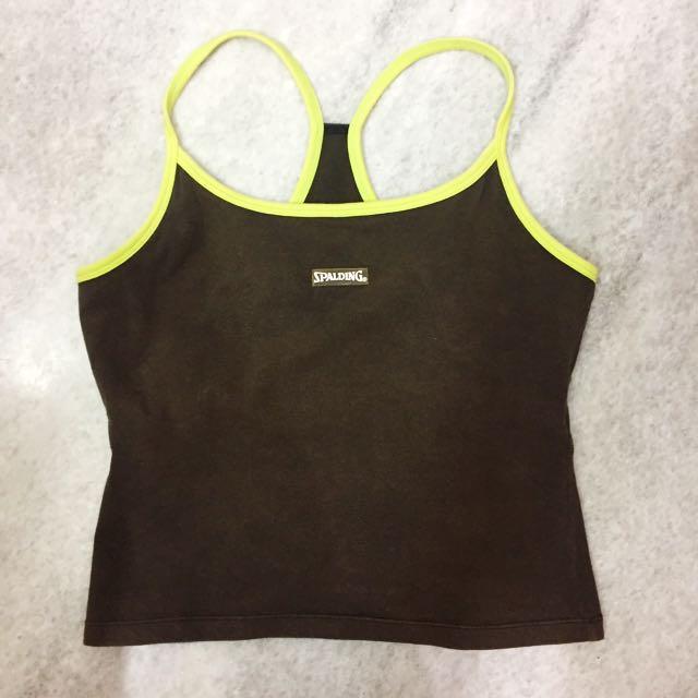 Spalding sport bra