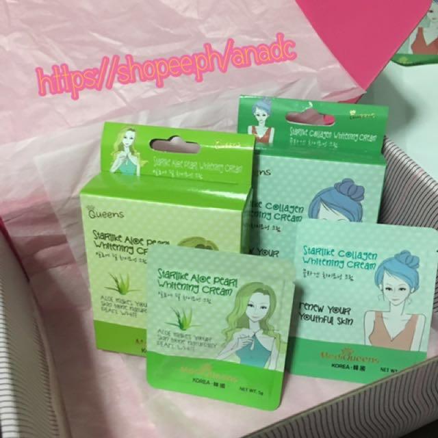 Starlike Collagen And Aloe Pearl Whitening Cream