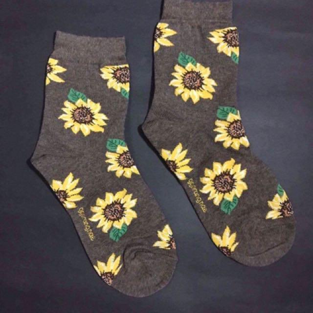Sunflower mid sock