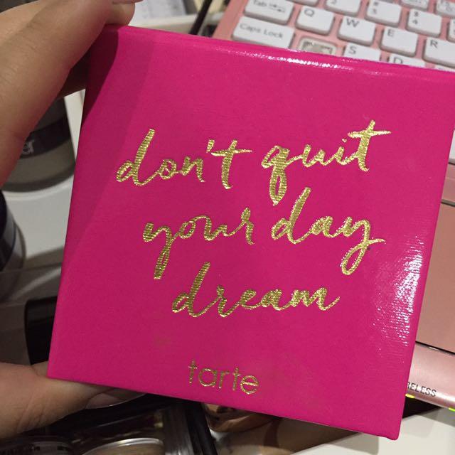Tarte: don't quit your day dream palette