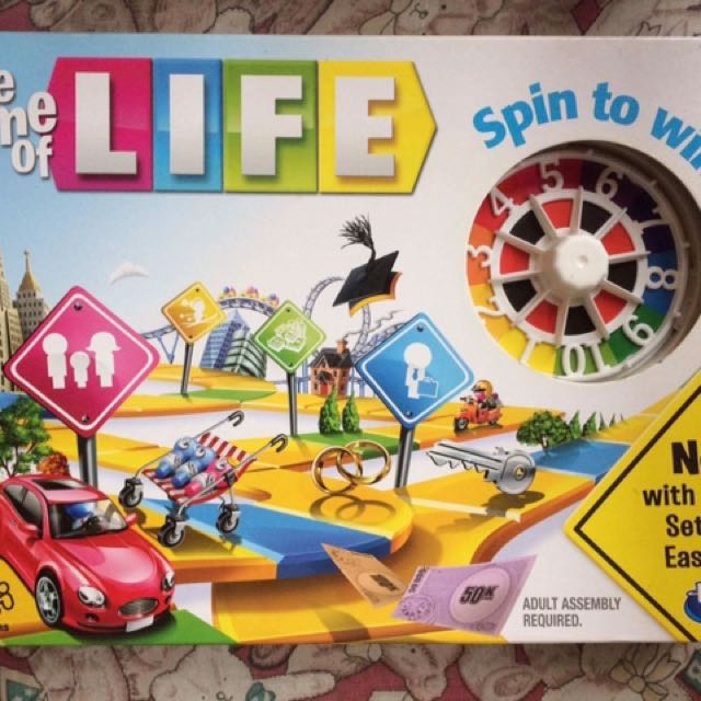 how to play the game of life board game