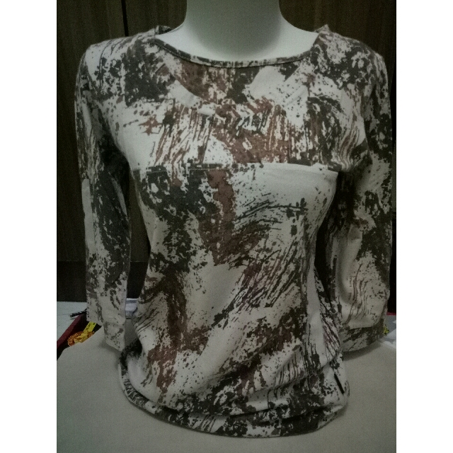 top dust size S bahan stretch