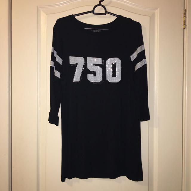 TOPSHOP Tunic Shirt/Dress