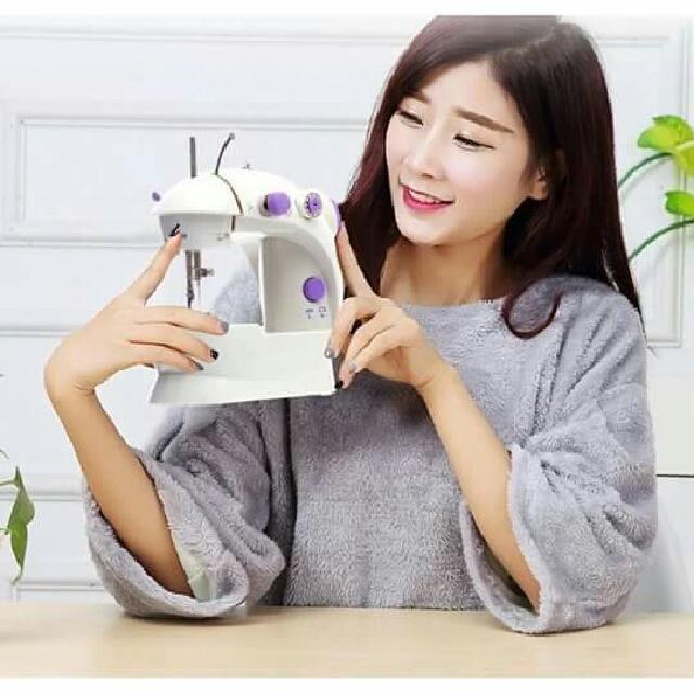 Tri Button Mini Sewing Machine