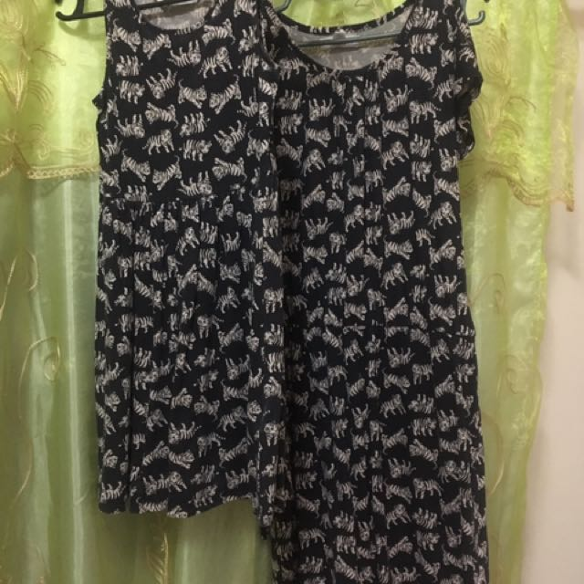 Twinning dress H&M Forever21