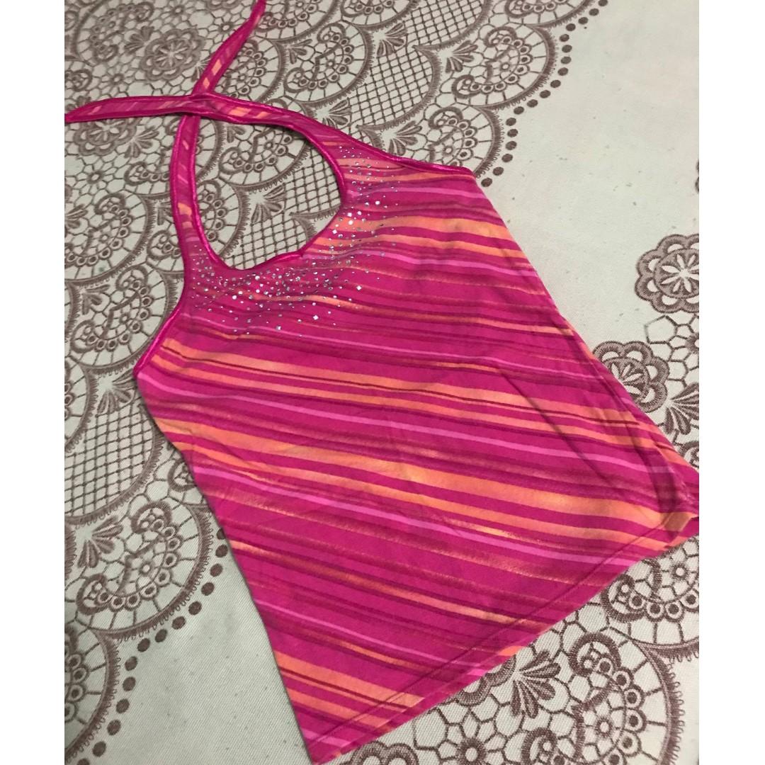 Unbranded - Pink Halter-Cami Summer Top