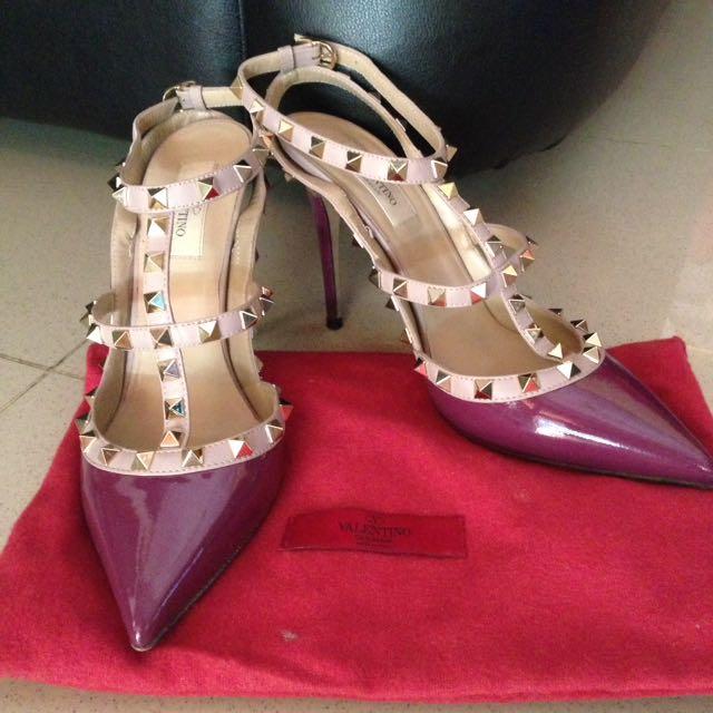 Valentino Rockstud Heels (sz 39)