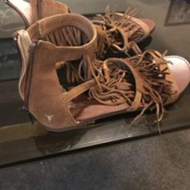 Windsor smith fringe sandal