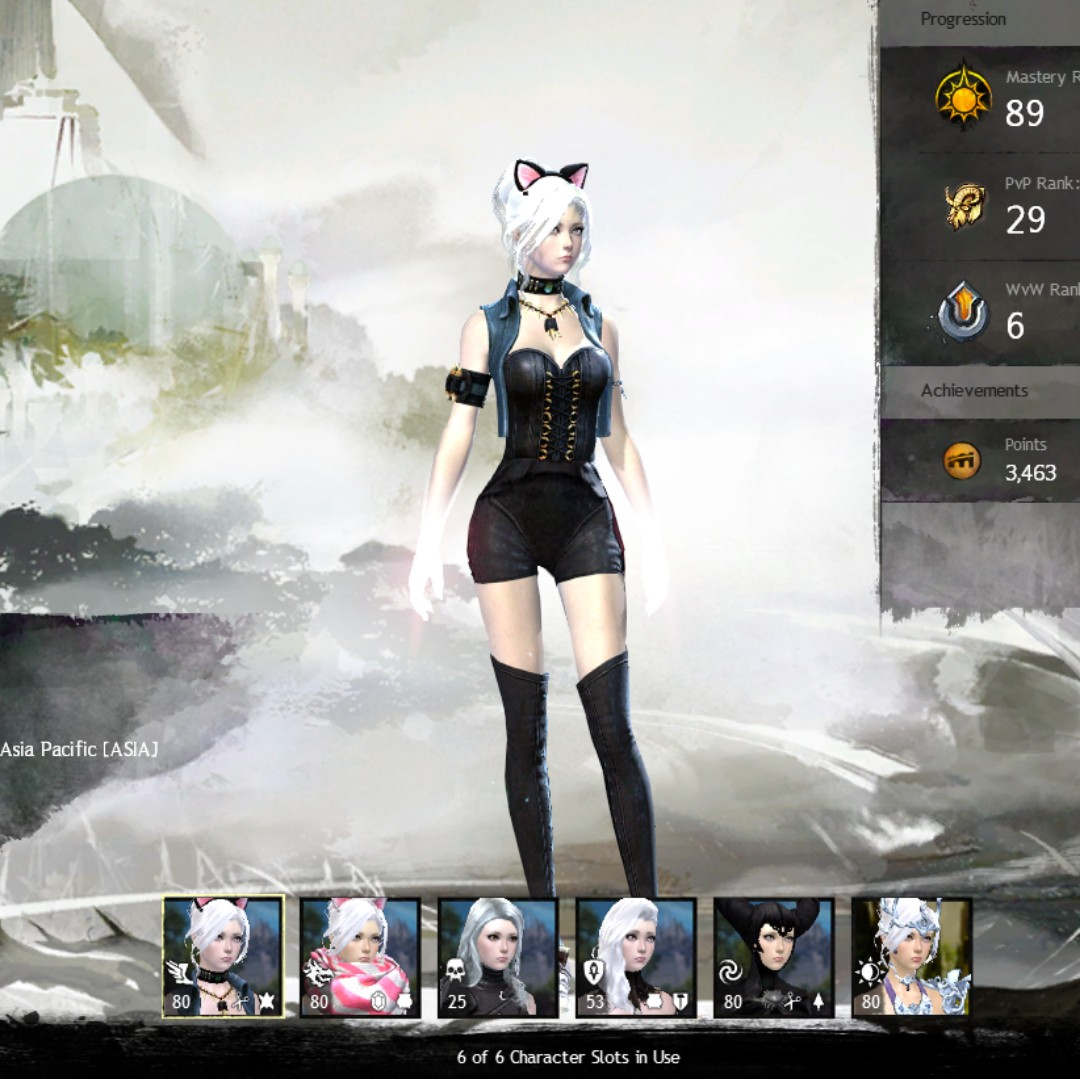 WTS Two Cheap Guild Wars 2 Account with Heart of Thorns Expansion