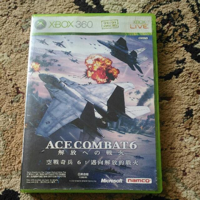 X360 - Ace Combat 6
