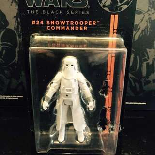 "Star Wars 3.75"" Snowtrooper Commander"