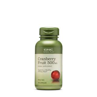 👍GNC Cranberry Fruit 500 MG