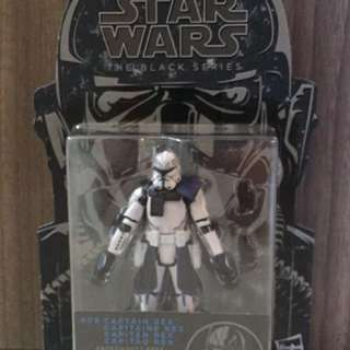 "Star Wars 3.75"" Black Series figures"