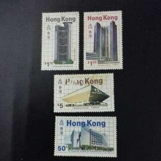 舊香港郵票