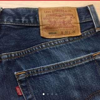 Levi's 501xx 經典牛仔褲 美國製 日本古著