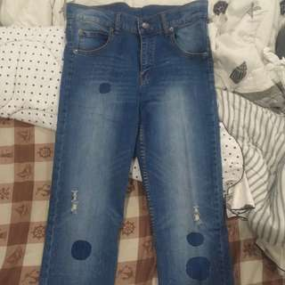 Cheap monday ripped jeans size 30