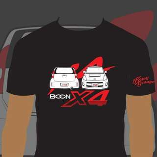 Boon x4 limited tshirt only in Mega Gathering Passo Boon Hana Sette Luminas 2017 in kL only in KL
