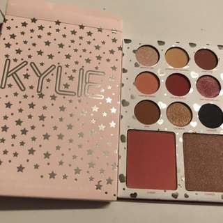 New Kylie I Want It All Birthday Palette