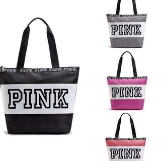 New Victoria Secret Pink Waterproof Gym / Beach / Duffle Bag