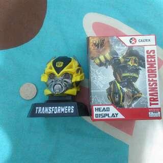 加德士 發聲著燈 大黃蜂頭 變形金剛 transformer Bumblebee head display