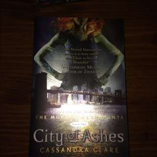 City of ashes and city of lost souls book