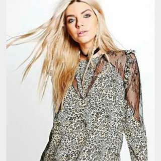 Boohoo Boutique Lace Blouse
