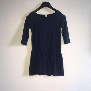 F21 blue dress