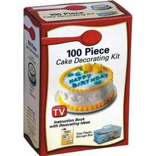 100pcs Cake Decorating Kit