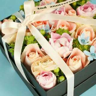 Fresh Floral Gift Box
