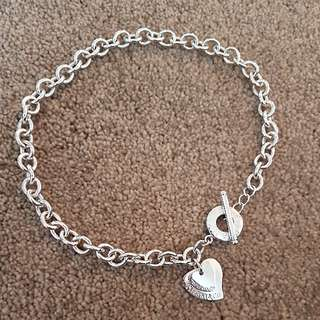 Tiffany & Co Double Heart Choker