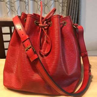 Authentic Louis Vuitton Epi Noe