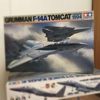 Tamiya Item 60303 1:32 Scale Grumman F-14A Tomcat 1994 Version