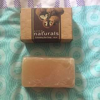 Handmade Soap And Avon Exfoliating Bar Soap
