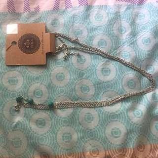 🔥PRICE DROP🔥Ishka Body Chain Turquoise Beads